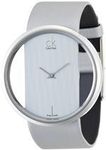 カルバン クライン 時計 Calvin Klein Quartz Genuine Silver Leather Strap with Crystal Clear Dial -<img class='new_mark_img2' src='https://img.shop-pro.jp/img/new/icons28.gif' style='border:none;display:inline;margin:0px;padding:0px;width:auto;' />
