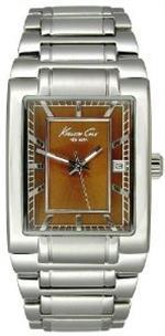 ケネスコール 時計 Kenneth Cole Mens KC3665 Reaction Silver-Tone Bracelet Watch