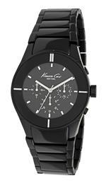 ケネスコール 時計 Kenneth Cole New York Mens KC3949 Chronograph Black Dial Watch