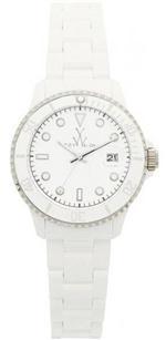 トイウォッチ 時計 Toywatch Classic Plasteramic White Watch. 32008-WH