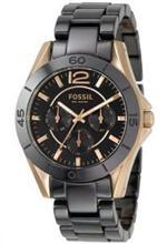 フォッシル 時計 Women's Fossil Ceramic Rose Gold Watch. CE1007