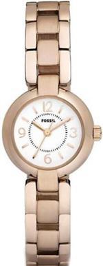 フォッシル 時計 Women's Fossil Rose Gold IP Watch ES2742