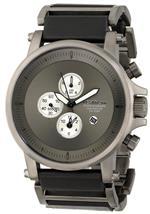 ベスタル 時計 Vestal Mens PLE033 Plexi Gunmetal and Black Leather Watch<img class='new_mark_img2' src='https://img.shop-pro.jp/img/new/icons4.gif' style='border:none;display:inline;margin:0px;padding:0px;width:auto;' />