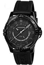ウェンガー 時計 Men's Swiss Wenger Squadron GMT Watch 77074