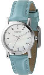 ダナキャラン 時計 Women's DKNY Blue Leather Watch NY4796