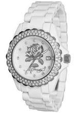 エド・ハーディー 時計 Women's Ed Hardy Dulcet Crystallized Watch. DU-RO