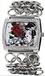 エド・ハーディー 時計 Women's Ed Hardy Lilly Watch LI-WG