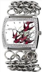 エド・ハーディー 時計 Women's Ed Hardy Lilly Watch LI-BR