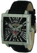 エド・ハーディー 時計 Men's Ed Hardy Black Defender Watch DE-TG