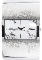 エド・ハーディー 時計 Women's Ed Hardy White Icon Watch IC-WH