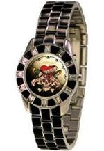 エド・ハーディー 時計 Women's Ed Hardy Chic Crystallized Watch. CH-LK