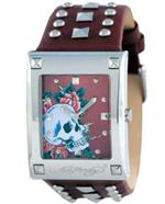エド・ハーディー 時計 Women's Ed Hardy Luci Cuff Watch. LU-SR
