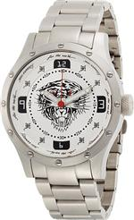 エド・ハーディー 時計 Men's Ed Hardy Brute Silver Watch BR-SL