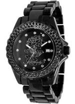 エド・ハーディー 時計 Women's Ed Hardy Dulcet Crystallized Watch. DU-LO