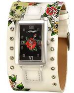 エド・ハーディー 時計 Women's Ed Hardy Temptress Cuff Watch. TT-WSK