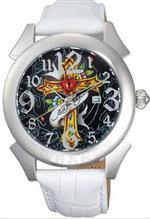 エド・ハーディー 時計 Men's Ed Hardy Revolution Watch. RE-CR