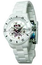 エド・ハーディー 時計 Women's Ed Hardy White VIP Watch. VP-WH