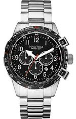 ノーティカ 時計 Men's Nautica BFC 44 Chronograph Watch N24005G
