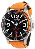 ノーティカ 時計 Nautica Mens N12578G BFD 101 Orange Polyurethane and Black Dial Watch<img class='new_mark_img2' src='https://img.shop-pro.jp/img/new/icons14.gif' style='border:none;display:inline;margin:0px;padding:0px;width:auto;' />