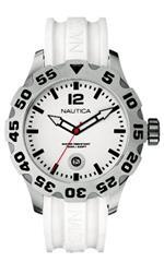 ノーティカ 時計 Nautica Mens N14608G BFD 100 Date White Watch
