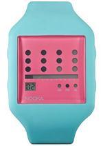 ヌーカ 時計 Nooka Zot Teal & Pink Watch ZUB ZOT CM 20