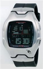 リッブカール 時計 Men's Rip Curl Rincon Oceansearch Tide Watch A1026-BLK