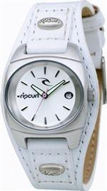リッブカール 時計 Women's Rip Curl Leather Strap Watch 17488G-WHI