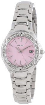セイコー 時計 Seiko Womens SXDC53 Crystal Sporty Dress Pink Dial Watch<img class='new_mark_img2' src='https://img.shop-pro.jp/img/new/icons19.gif' style='border:none;display:inline;margin:0px;padding:0px;width:auto;' />
