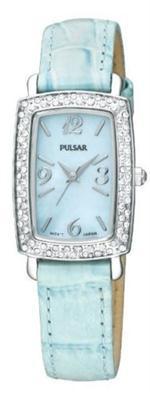 バルサー 時計 Pulsar PTC501 Blue Leather Strap Ladies Watch New