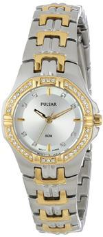 パルサー 時計 Pulsar Womens Two-Toned Dress Sport Watch