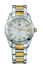 トミーヒルフィガー 時計 New Tommy Hilfiger 1781146 Two Tone Stainless Steel Ladies Watch