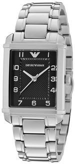 エンポリオアルマーニ 時計 Armani Classic Quartz Womens Black Dial Watch - AR0494