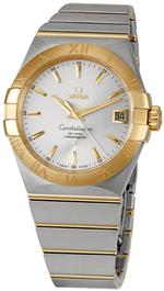 オメガ 時計 Omega Mens 123.20.38.21.02.002 Constellation Silver Dial Watch<img class='new_mark_img2' src='https://img.shop-pro.jp/img/new/icons24.gif' style='border:none;display:inline;margin:0px;padding:0px;width:auto;' />