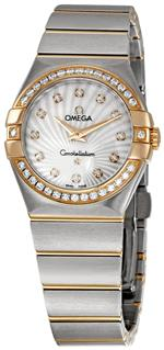 オメガ 時計 Omega Womens 123.25.27.60.55.002 Constellation Diamond Bezel Watch