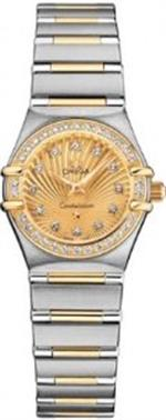 オメガ 時計 Omega Constellation Limited 160Th Anniversary Ladies Mini Watch 111.25.23.60.58.001
