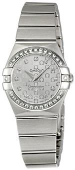 オメガ 時計 Omega Womens 123.15.24.60.52.001 Constellation Silver Dial Watch<img class='new_mark_img2' src='https://img.shop-pro.jp/img/new/icons10.gif' style='border:none;display:inline;margin:0px;padding:0px;width:auto;' />