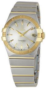 オメガ 時計 Omega Womens 123.20.35.60.02.002 Constellation Quartz Two Tone Watch