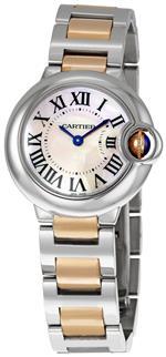 カルティエ 時計 Cartier Womens W6920034 Ballon Bleu de Cartier Small Gold and Steel Watch