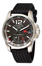ショパール 時計 Chopard Mens 168457-3005 Mille Miglia GT XL Grey Power Reserve Dial Watch
