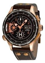 ハミルトン 時計 Hamilton Mens H76646533 Khaki Aviation X-copter Black Chronograph Dial Watch