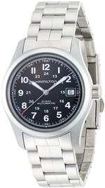 ハミルトン 時計 Hamilton Khaki Field Stainless Steel Mens Watch H70455133<img class='new_mark_img2' src='https://img.shop-pro.jp/img/new/icons9.gif' style='border:none;display:inline;margin:0px;padding:0px;width:auto;' />