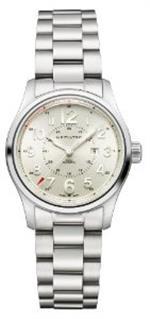 ハミルトン 時計 Hamilton Mens H70365183 Khaki Field Silver Dial Watch