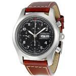ハミルトン(hamilton) H71556537 メンズ腕時計 カーキ・フィールド ブラック ダイヤル