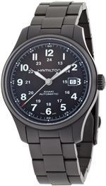 <img class='new_mark_img1' src='https://img.shop-pro.jp/img/new/icons24.gif' style='border:none;display:inline;margin:0px;padding:0px;width:auto;' />ハミルトン 時計 Hamilton Mens HML-H70565133 Khaki Field Black Dial Watch