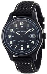 ハミルトン 時計 Hamilton Mens HML-H70575733 Khaki Field Black Dial Watch