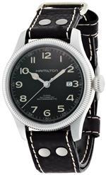 <img class='new_mark_img1' src='https://img.shop-pro.jp/img/new/icons11.gif' style='border:none;display:inline;margin:0px;padding:0px;width:auto;' />ハミルトン 時計 Hamilton Mens H60455533 Khaki Field Team Earth Black Dial Watch