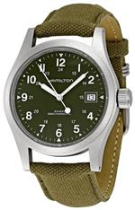 ハミルトン 時計 Hamilton Mens HML-H69419363 Khaki Field Green Dial Watch