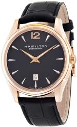 <img class='new_mark_img1' src='https://img.shop-pro.jp/img/new/icons4.gif' style='border:none;display:inline;margin:0px;padding:0px;width:auto;' />ハミルトン 時計 Hamilton Mens H38645735 Jazzmaster Slim Black Dial Watch