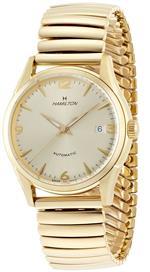 ハミルトン 時計 Hamilton Mens H38435221 Timeless Class Goldtone Dial Watch