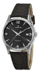 ハミルトン 時計 Hamilton Mens H38415731 Timeless Class Black Dial Watch